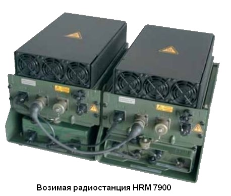Возимая радиостанция HRM 7900