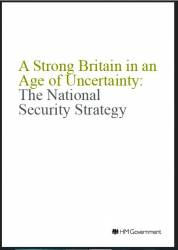 "National Security Strategy ""A Strong Britain in an Age of Uncertainty"" 2010"