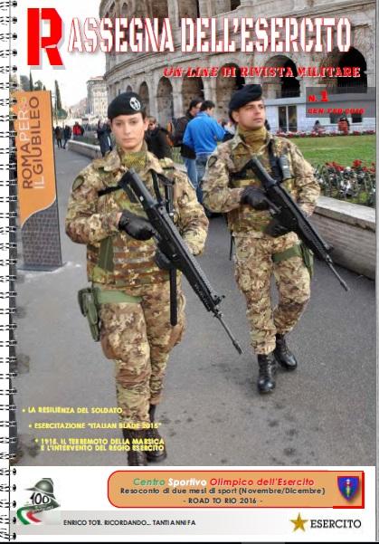 Rassegna dell'Esercito №1 2016
