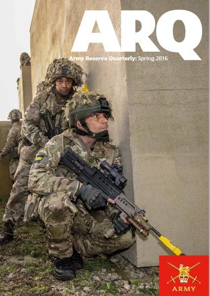 ARQ - Army Reserve Quarterly Spring 2016