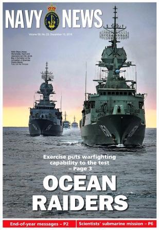 Navy News №23 от 15.12.2016