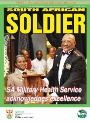 South African Soldier №1 2017