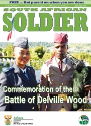 South African Soldier №6 2017