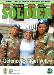 South African Soldier №4 2017