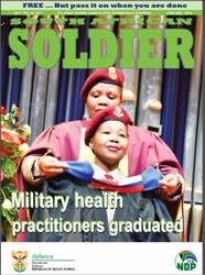 South African Soldier №7 2017