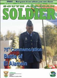 South African Soldier №10 2017
