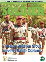 South African Soldier №12 2017