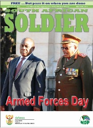 South African Soldier №2 2018