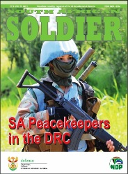 South African Soldier №3 2018