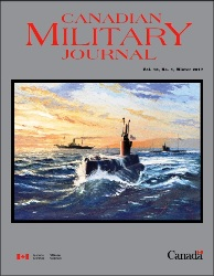 Canadian Military Journal №1 2018