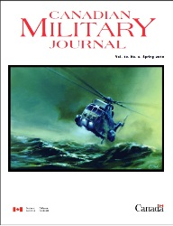 Canadian Military Journal №2 2018