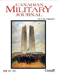 Canadian Military Journal №2 2017