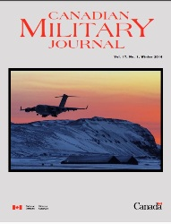 Canadian Military Journal №1 2017