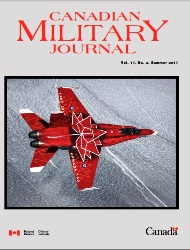Canadian Military Journal №3 2017