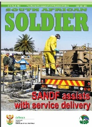 South African Soldier №5 2018