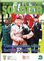 South African Soldier №6 2018