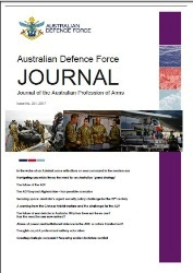 Australian Defence Force Journal №201 2017