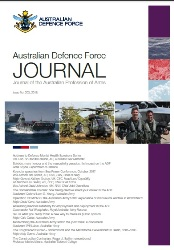 Australian Defence Force Journal №203 2018
