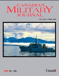 Canadian Military Journal №1 2019