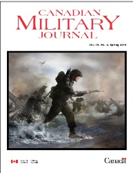 Canadian Military Journal №2 2019