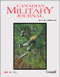 Canadian Military Journal №3 2019