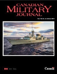 Canadian Military Journal №4 2019