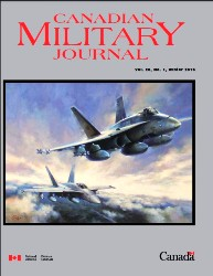 Canadian Military Journal №1 2020