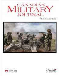 Canadian Military Journal №2 2020