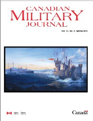 Canadian Military Journal №2 2021