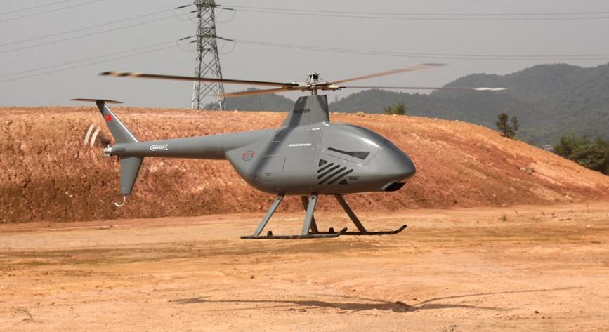БЛА вертолетного типа SVU-200